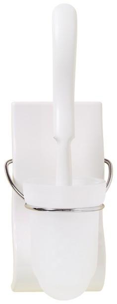 Porte-balai blanc