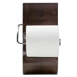 Porte-papier Wengé mat