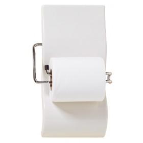 Porte-papier blanc